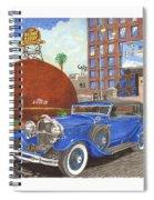 1931 Lincoln K Dietrich Phaeton Spiral Notebook