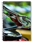 1934 Chevrolet Flying Eagle Hood Ornament - 2 Spiral Notebook