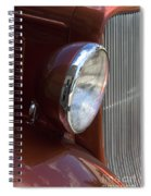 1934 Ford Headlight And Grill Spiral Notebook