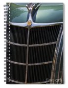 1935 Airflow Spiral Notebook