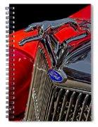 1936 Ford Model 48 Emblem Spiral Notebook
