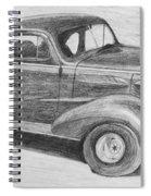 1937 Chevy Spiral Notebook