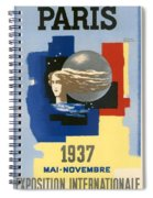 1937 Paris Exposition Spiral Notebook