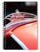 1937 Plymouth Sailing Ship Hood Ornament Spiral Notebook