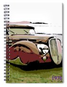 1938 Delahaye Cabriolet Spiral Notebook