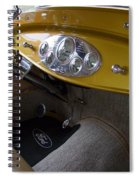 1938 Ford Roadster Dashboard Spiral Notebook