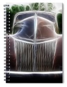 1939 Ford Deluxe Spiral Notebook