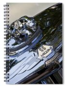 1939 Jaguar Spiral Notebook
