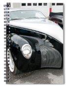 1939 Lincoln Zephyr  7680 Spiral Notebook