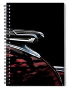 1940 Chevy Hood Ornament Take 2 Spiral Notebook