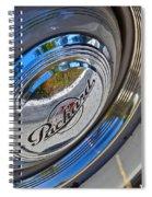 1940 Packard Hubcap Spiral Notebook