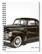 Studebaker Business Coupe Spiral Notebook