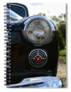 1941 Cadillac Headlight Spiral Notebook