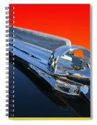 1947 Chevrolert Hood Ornament Spiral Notebook