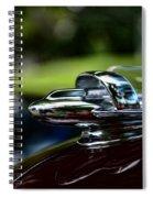 1947 Chevrolet Hood Ornament Spiral Notebook
