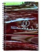 1947 Studebaker Name Plate Spiral Notebook