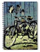1947 Whizzer Spiral Notebook