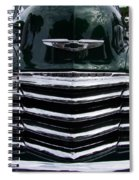 1948 Chevy Coupe Grille Spiral Notebook
