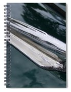 1948 Chevy Coupe Hood Ornament Spiral Notebook
