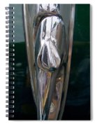 1948 Chevy Coupe Trunk Latch Spiral Notebook