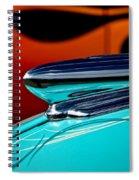 1948 Chevy Hood Ornament Spiral Notebook