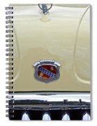 1949 Buick Super 8 Grill  Spiral Notebook