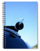 1949 Ford Hood Ornament Spiral Notebook