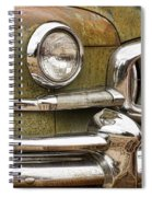 1951 Nash Ambassador Front End Closeup Spiral Notebook