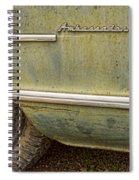 1951 Nash Ambassador Side Logo Spiral Notebook
