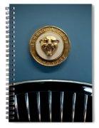 1952 Jaguar Hood Ornament Spiral Notebook
