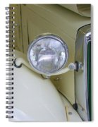 1952 Mg Roadster Headlamp Spiral Notebook
