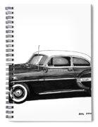 1953 Chevrolet Post 2 Dr Sedan Spiral Notebook
