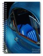 1953 Jaguar 120m Wind Wings Spiral Notebook