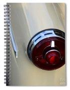 1954 Ford Customline Tail Light Spiral Notebook