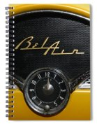 1955 Chevy Belair Clockface Spiral Notebook