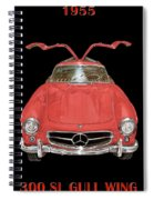 300 S L Gull Wing  Spiral Notebook