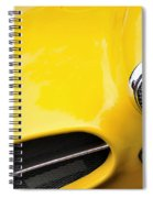 1956 Buckle Gt Coupe - Badge Grill Headlight Spiral Notebook