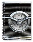 1956 Buick Century Grill Emblem Spiral Notebook