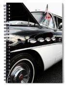1956 Buick Century Profile 2 Spiral Notebook