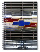 1956 Chevrolet Grill Emblem Spiral Notebook