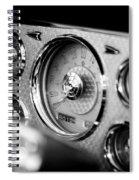 1956 Packard Caribbean Dashboard Spiral Notebook