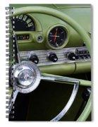 1956 Thunderbird Interior Spiral Notebook