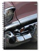 1957 Coral Chevy Bel Air Spiral Notebook