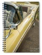 1957 Ford Fairlane 500 Skyliner Retractable Hardtop Convertible Spiral Notebook