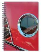 1957 Ford Thunderbird  Spiral Notebook