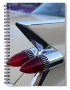 1958 Cadillac Tail Lights Spiral Notebook