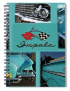1958 Chevy Impala Spiral Notebook