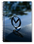 1958 Mercury Park Lane Hood Ornament Spiral Notebook