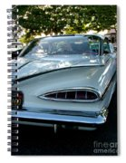 1959 Chevrolet Impala Taillight Spiral Notebook