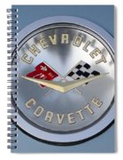 1959 Corvette Emblem Spiral Notebook